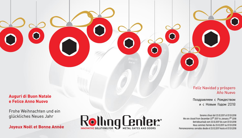 Frohe Weihnachten und ein glückliches Neues Jahr! - Rolling Center